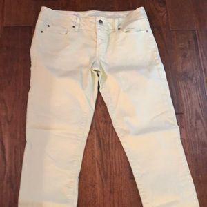 Gap light green jeans